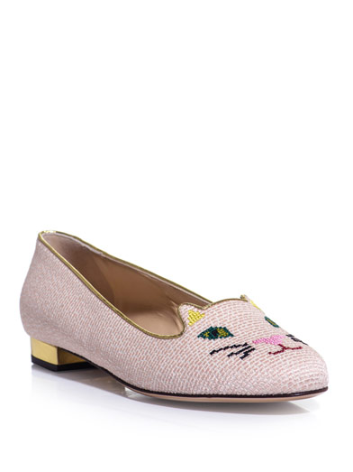 Charlotte-Olympia-Kitty-Flats-Pink