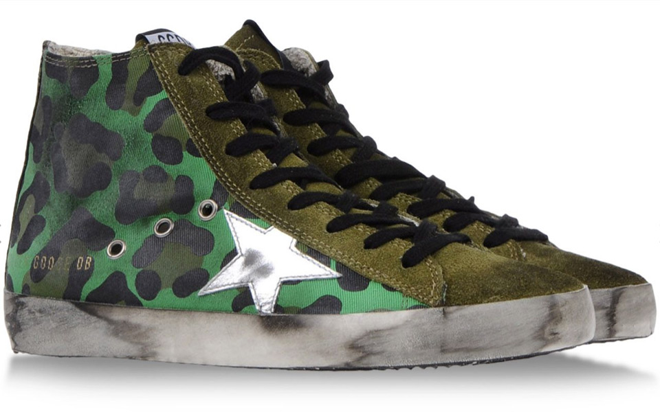 Golden-Goose-Green-Leopard-Canvas