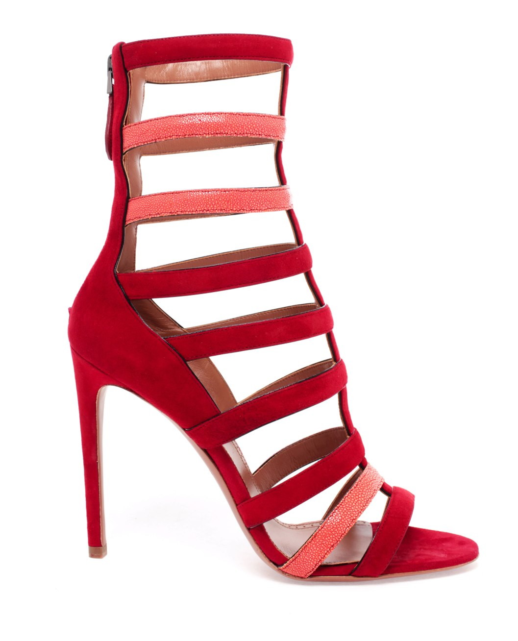 Alaia-Red-Strappy-Sandals_2