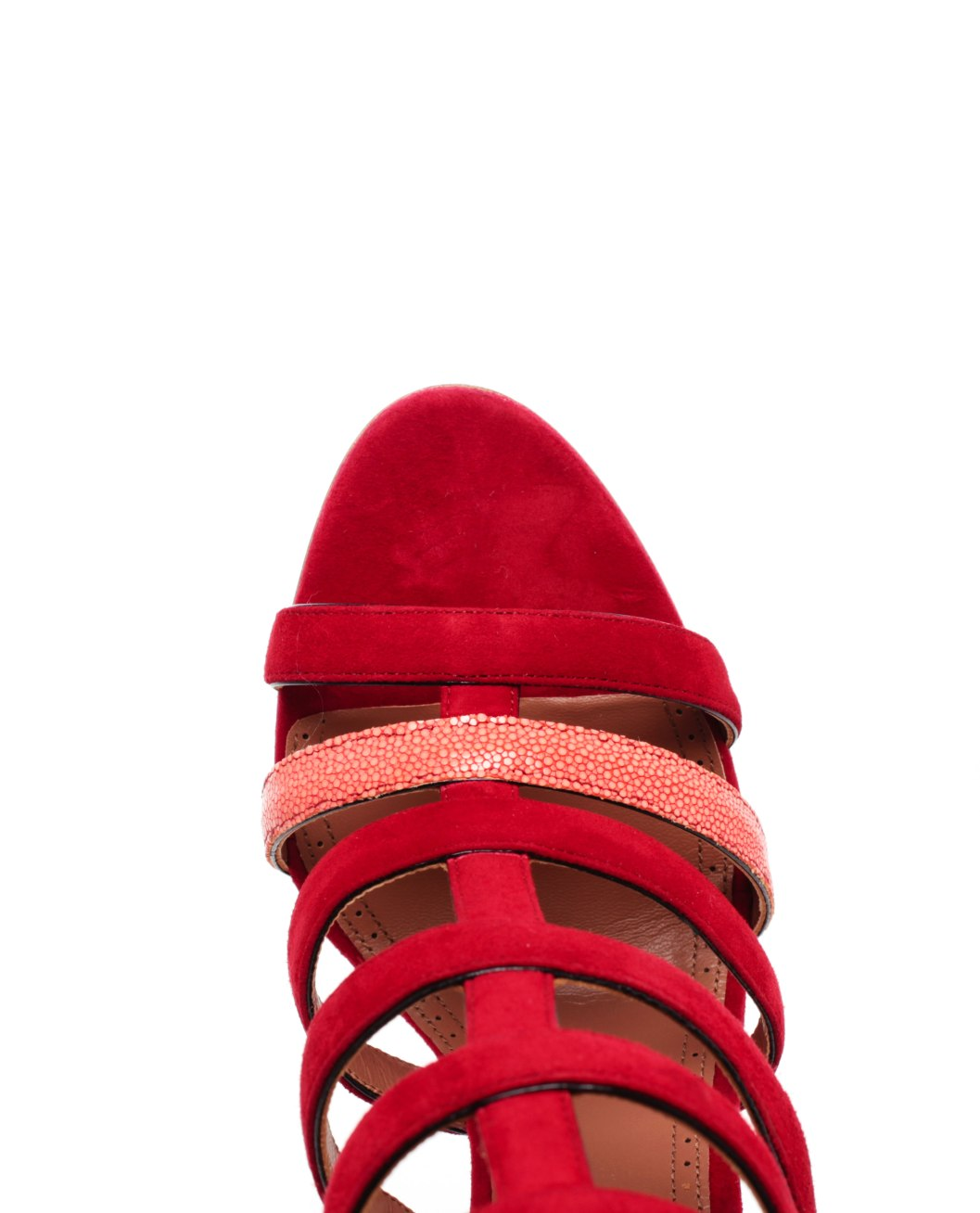 Alaia-Red-Strappy-Sandals_4