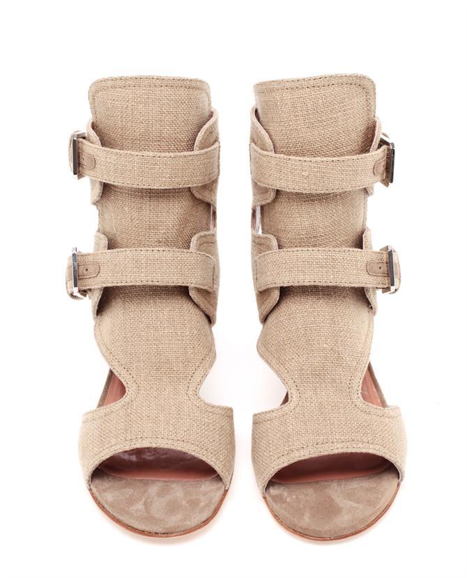Laurence-Decade-Douce-Buckled-Linen-Heels_3