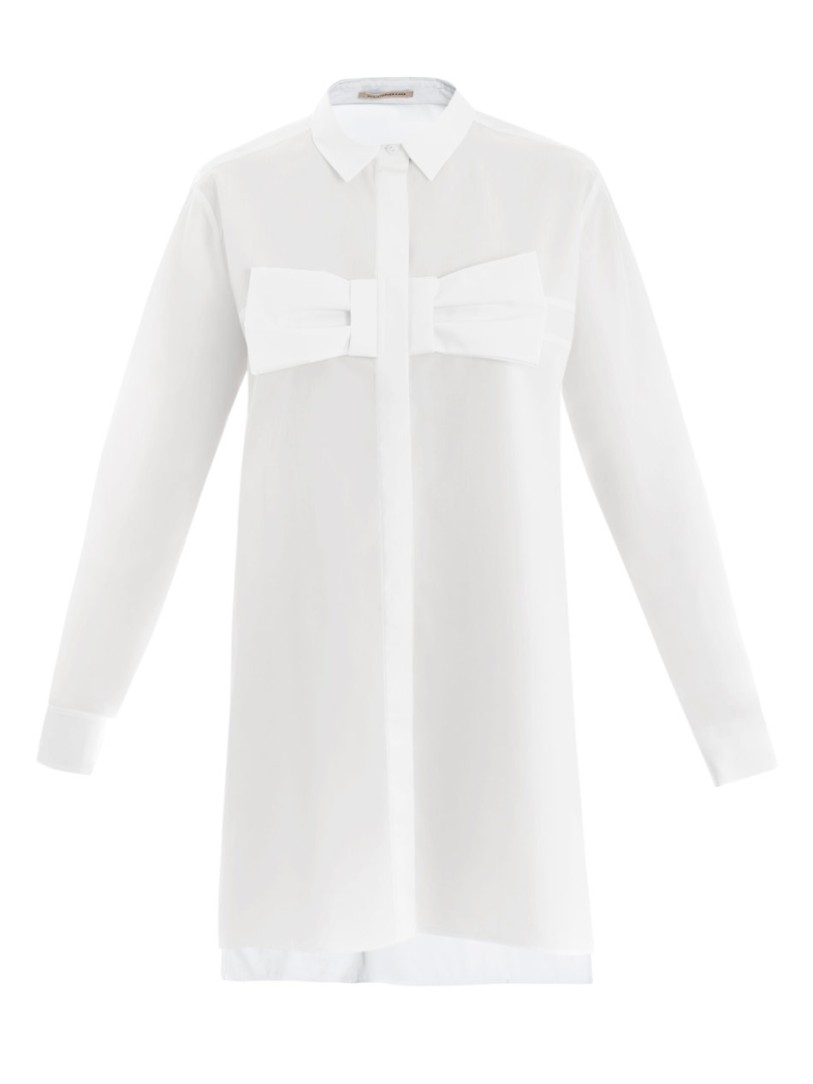 Christopher-Kane-White-Shirt-Dress