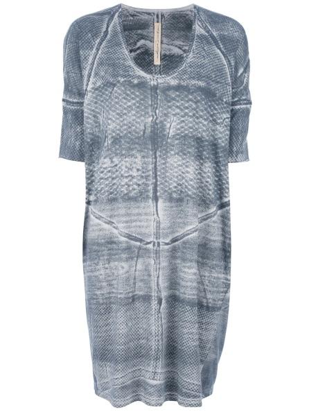 Raquel-Allegra-Scales-Print-Dress