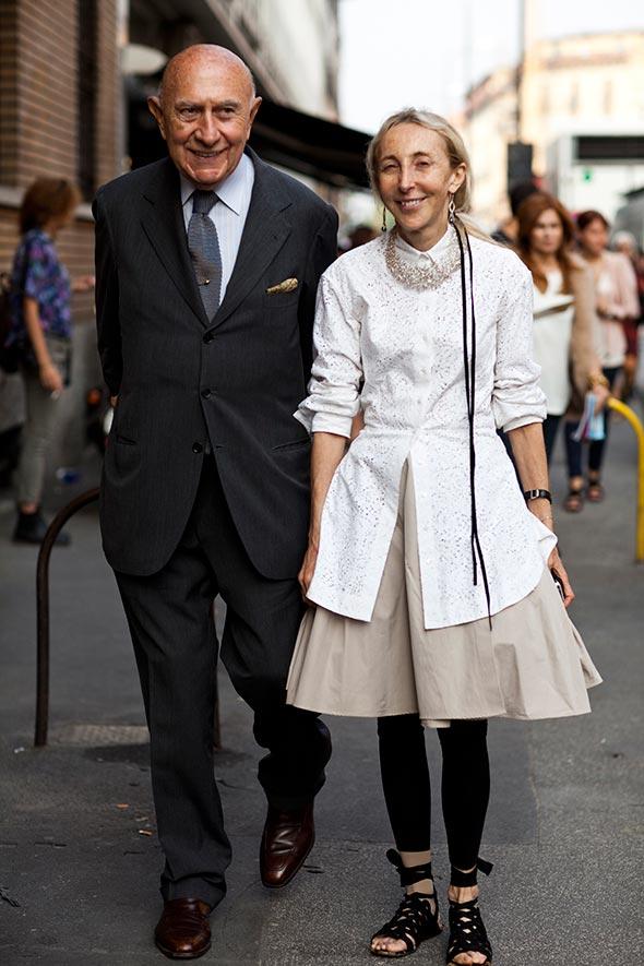 Wikipedia Azzedine Alaia >> Sisters Carla & Franca Sozzani   What To Wear