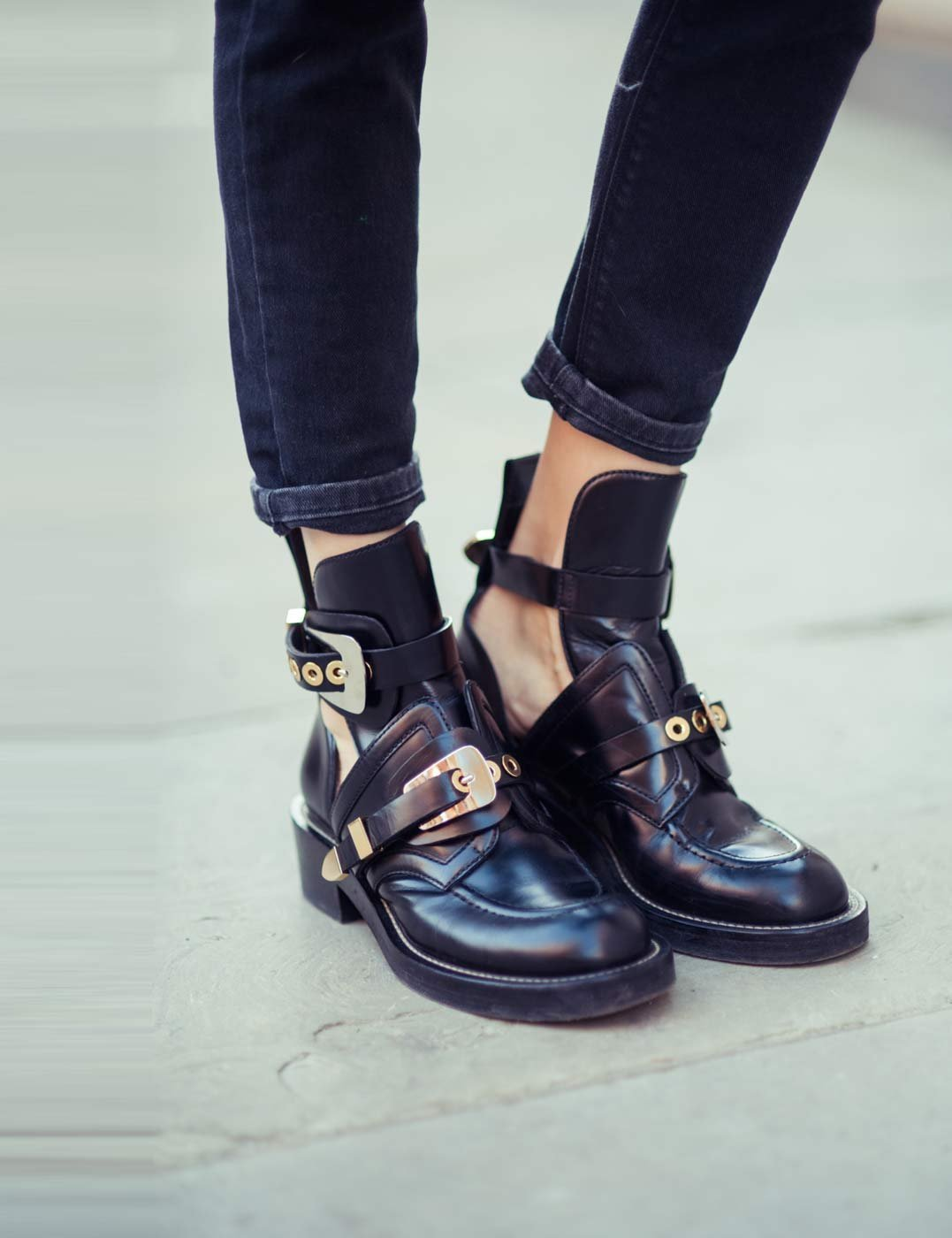try this look cut out ankle boots wondermika