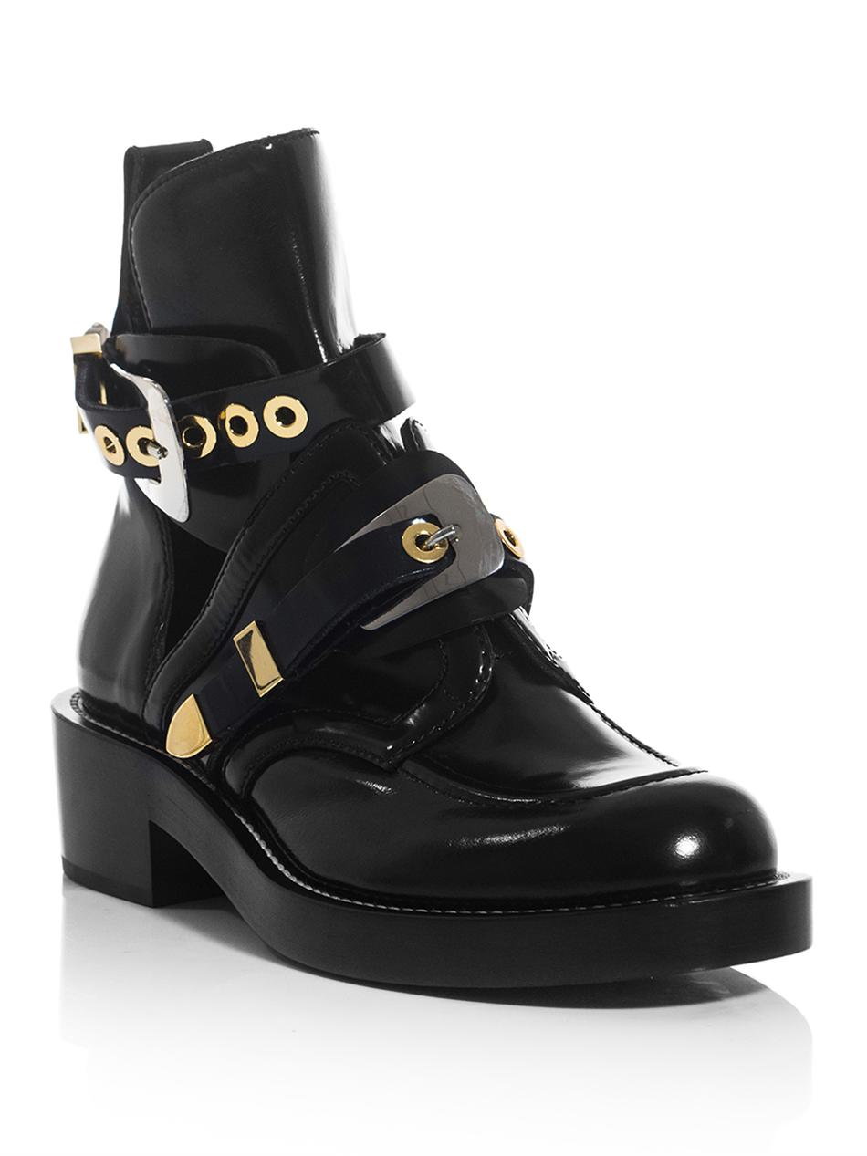 On My Mind Balenciaga Cut Out Ankle Boot What To Wear