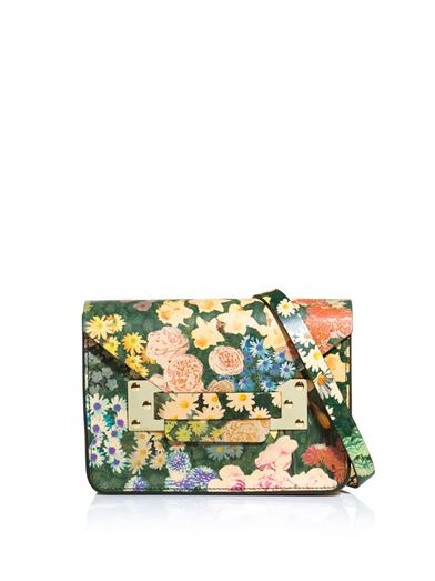 SOPHIE HULME-Floral-mini-envelope-clutch