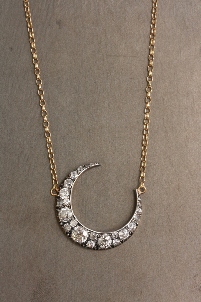Adelphe-Diamond-Crescent-Moon-Necklace