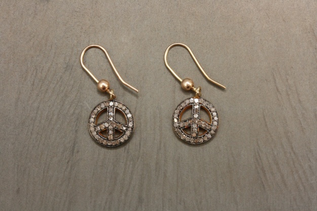 Adelphe-Diamond-Peace-Earrings