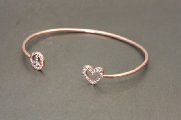 Adelphe-Love-And-Peace-Bangle