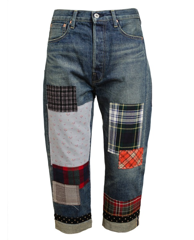 Junya-Watanabe-Patchwork-Jeans