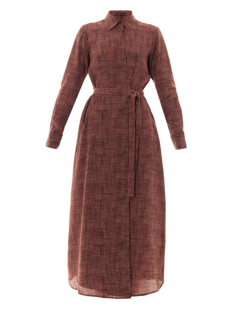 Marc-jacobs-Gingham-Silk-Dress