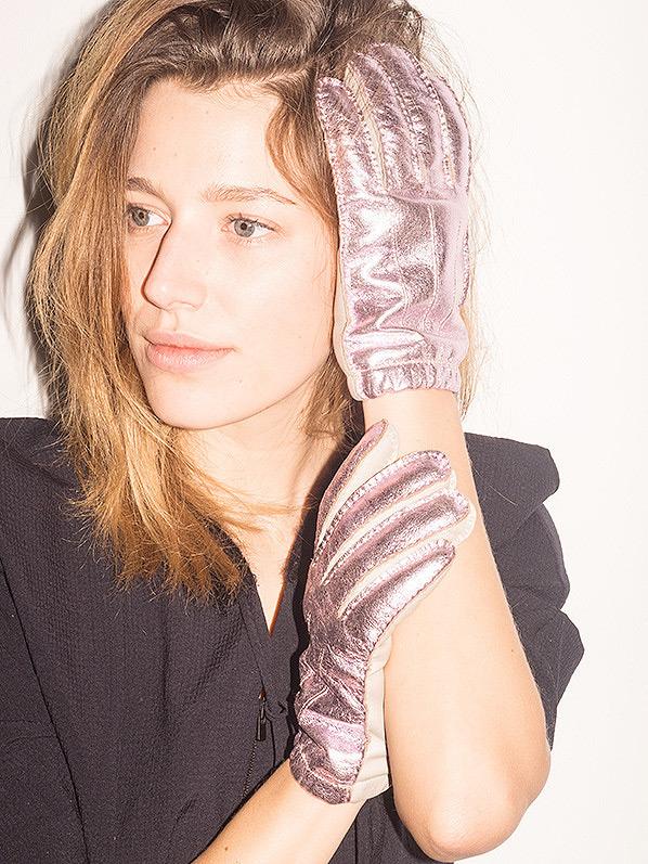 Hache-Pink-Glove