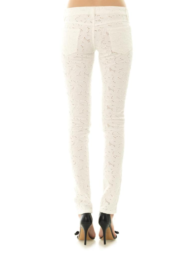 ISABEL MARANT ÉTOILE Mael embroidered mid-rise skinny jeans_3